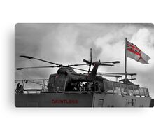 HMS Dauntless Lynx Metal Print