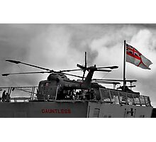 HMS Dauntless Lynx Photographic Print