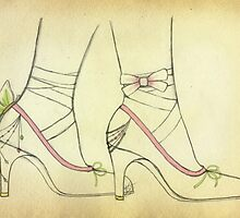 Magical Shoes by VeronicaSilva