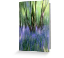Essence Of Bluebells Greeting Card