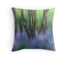 Essence Of Bluebells Throw Pillow