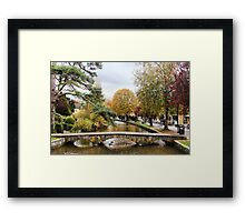 Colours of the Autumn Framed Print