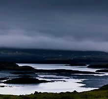 Fog rolling in to Dunvegan Bay, Isle of Skye by Sue Fallon Photography