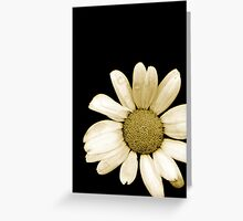 Flora Simplistic Greeting Card