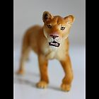 Schleich Vintage Lioness Toy Figurine by © Sophie W. Smith