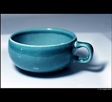Vintage Turquoise Tea Cup by © Sophie Smith