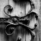 Ironwork Church Door - England by Samantha Higgs