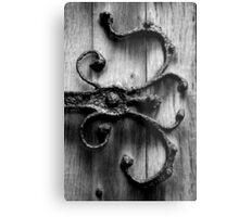 Ironwork Church Door - England Metal Print