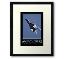 Awesomeness Framed Print