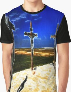 Darkness at the Crucifixion of Jesus Graphic T-Shirt
