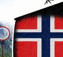Norwegian (Norsk) Quidditch  Sticker