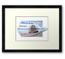 Challenge  Framed Print