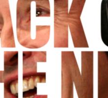 Back Of The Net Sticker