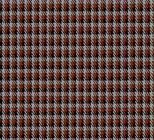 00575 Coigach Tweed (Gun Club Check) District Tartan Fabric Print Iphone Case by Detnecs2013