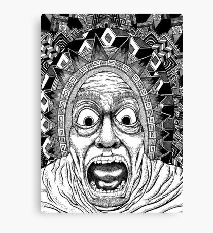 Aztec Vex Canvas Print