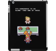 Its Dangerous to go Alone (Charmander) iPad Case/Skin