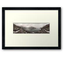 Gosainkunda lake panorama Framed Print