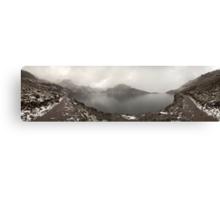 Gosainkunda lake panorama Canvas Print