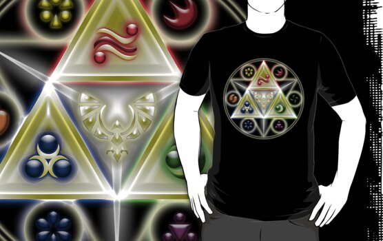 Legend of Zelda Geometria by MrP1ckles