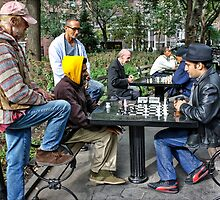 Men At Play by Mikell Herrick