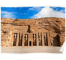 Temple of Hathor. Poster
