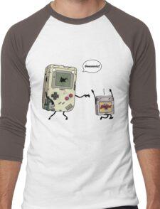 Don't Get 8bit! Men's Baseball ¾ T-Shirt