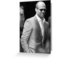 Jason Statham Greeting Card