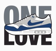 Air Max One Love (blue) by strummerblue