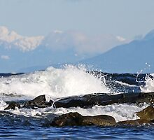 West Coast Blues Oyster Bay Mayne Island  by TerrillWelch