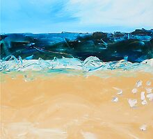 At the Beach by Sue Hilder