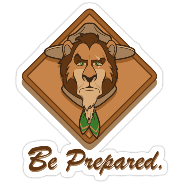 Be Prepared by Grant Thackray