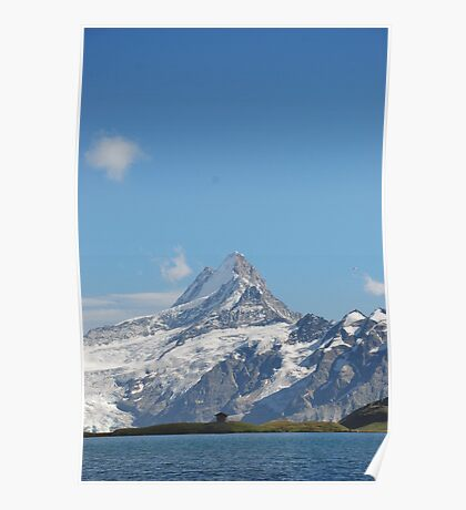 Swiss Mountains. Poster