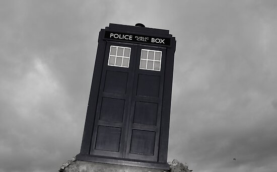 Police Box thing by farmbrough