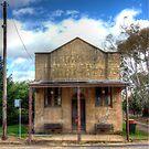 Old Printing Works Shop Boorowa  NSW Australia  by Kym Bradley