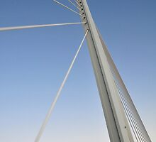 Millau Viaduct Abstract by Matt Dean