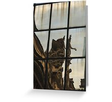 Grand Central Station Reflection Greeting Card