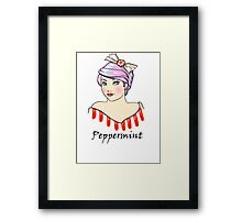 Peppermint Sweetie Framed Print