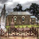 Old Church on Boorowa Road  NSW  Australia  by Kym Bradley