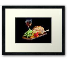 Food, Food, Food Framed Print