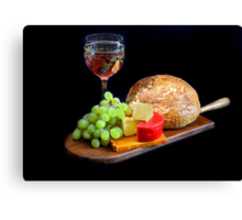Food, Food, Food Canvas Print