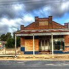 Retired, Closed Old Butchers Shop Boorowa  NSW  Australia  by Kym Bradley