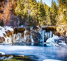Hanging Lake Vertical  by Adam Northam