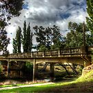 Jubaliee bridge Boorowa  NSW  Australia  by Kym Bradley