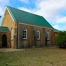 Un Marked church Boorowa NSW Australia  by Kym Bradley