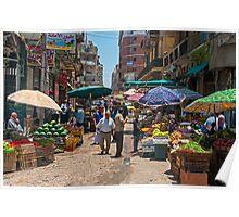 East Souq Alexandria. Poster
