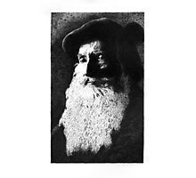 Bearded portrait. Photographic Print