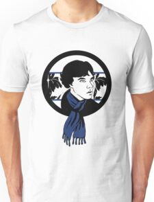 Blue Scarf Unisex T-Shirt