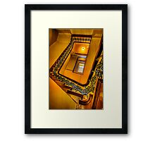 Stairway to the Past.. Framed Print