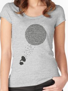 Ball Of Sound Women's Fitted Scoop T-Shirt
