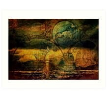 Viking Journeys Art Print